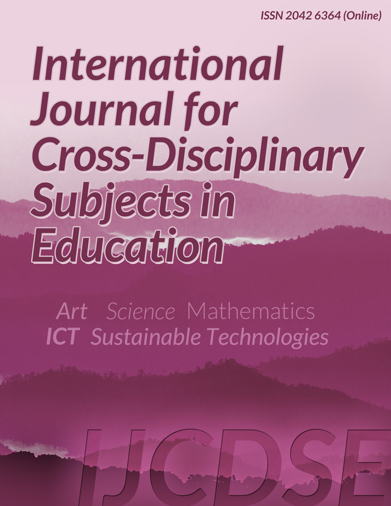 International Journal for Cross-Disciplinary Subjects in Education