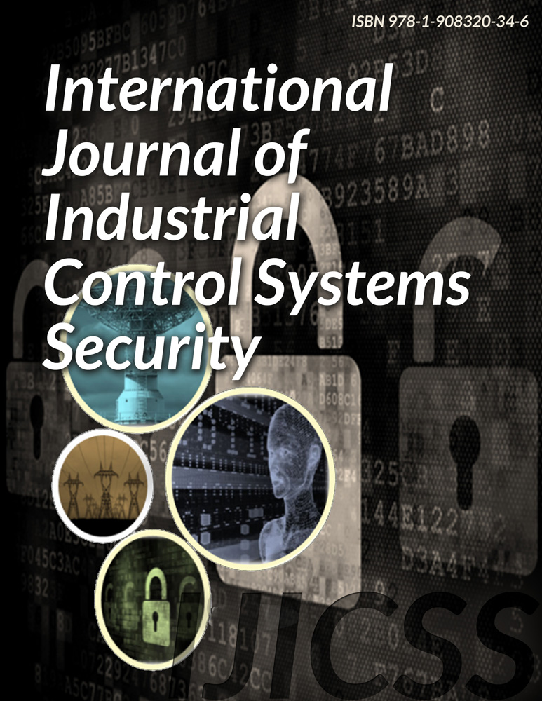 International Journal of Industrial Control Systems Security