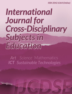International Journal for Cross-Disciplinary Subjects in Education (IJCDSE) - Infonomics Society