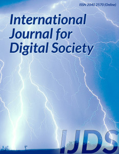 International Journal of Digital Society (IJDS)