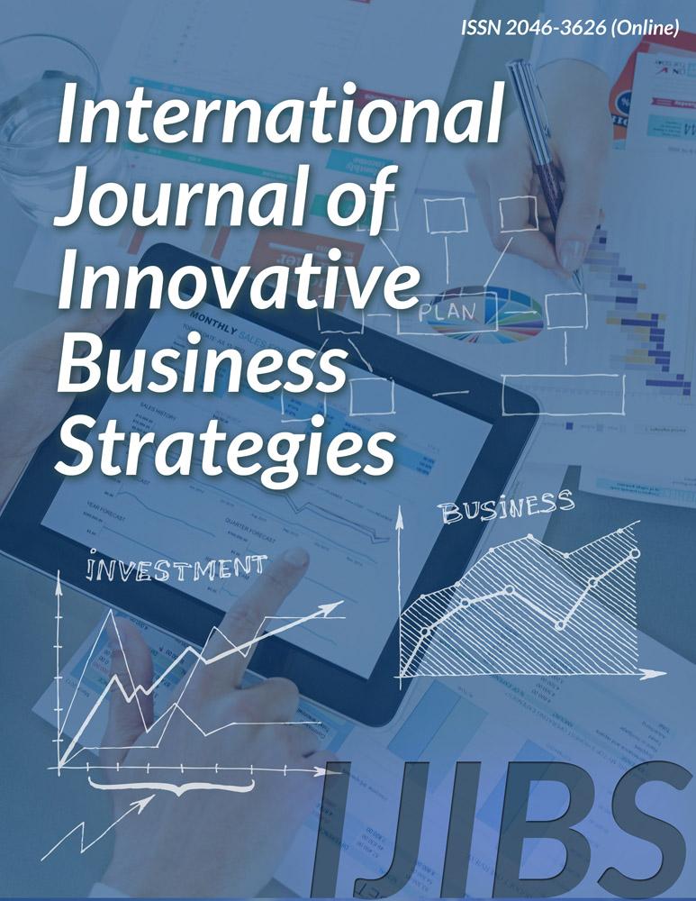 International Journal of Innovative Business Strategies
