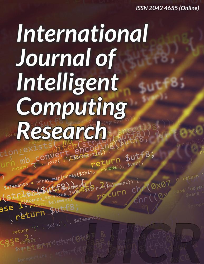International Journal of Intelligent Computing Research (IJICR) - Infonomics Society
