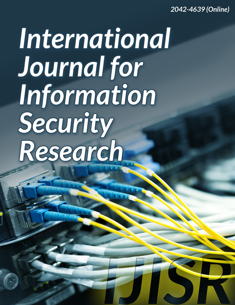 International Journal for Information Security Research (IJISR) - Infonomics Society