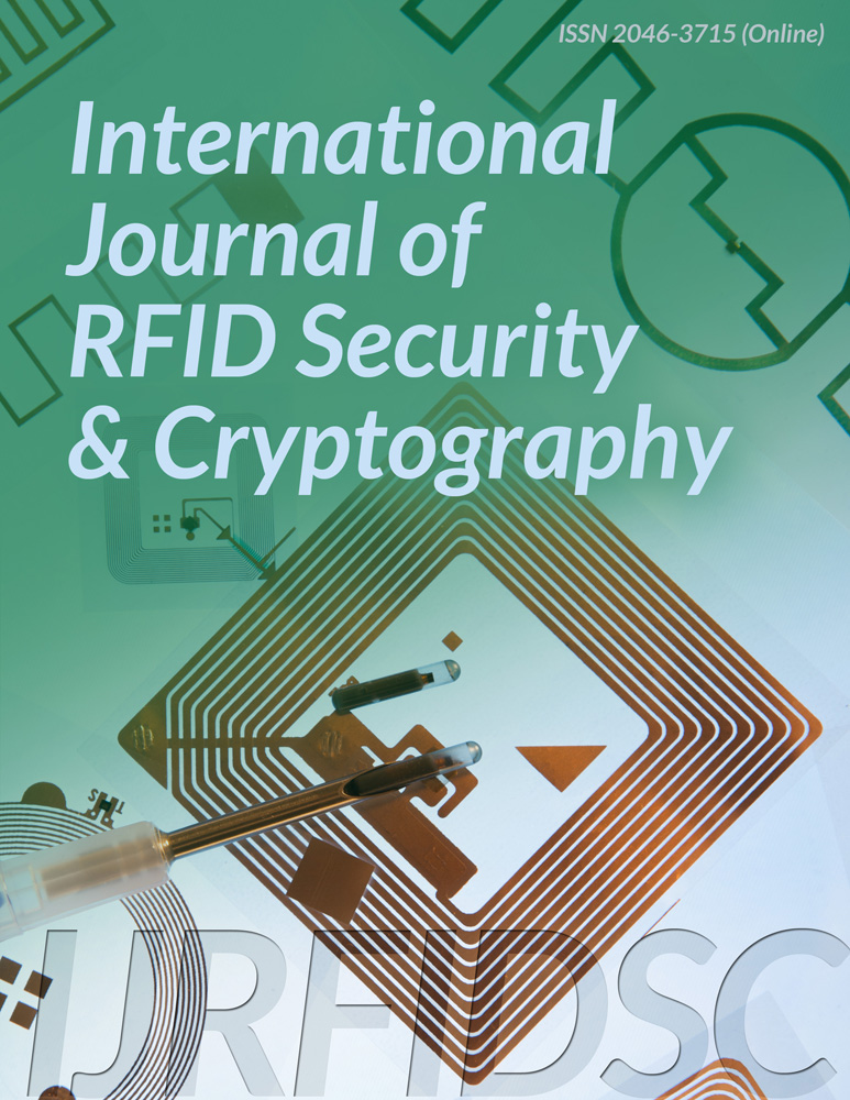 International Journal of RFID Security and Cryptography-IJRFIDSC-Infonomics Society
