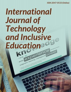International Journal of Technology & Inclusive Education